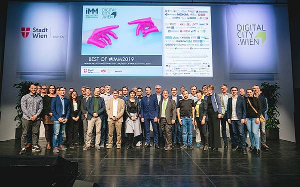 Teilnehmer*innen Industry Meets Makers 2019