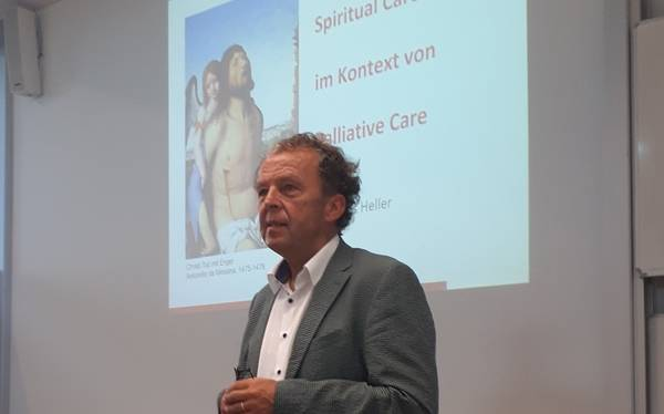Andreas Heller bei der Campus Lecture